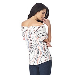 The Collection - White gypsy top