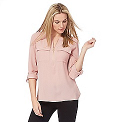 The Collection - Pink zipped top