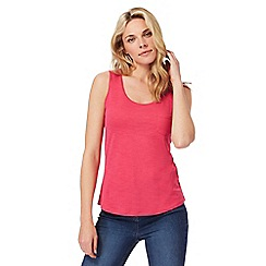 The Collection - Pink pocket vest top