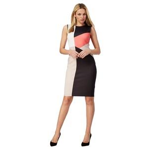 The Collection Black Colour Block Dress
