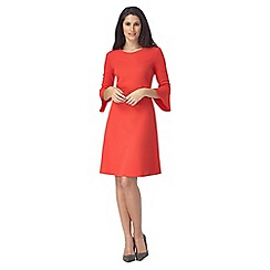 The Collection - Red textured dress