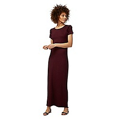The Collection - Dark red frilled trim maxi dress