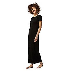The Collection - Black frilled trim maxi dress