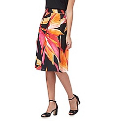 The Collection - Multi-coloured floral print prom skirt