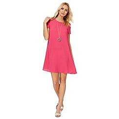 The Collection - Pink plus size swing dress