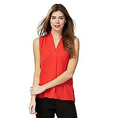 The Collection - Red sleeveless top