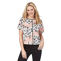 The Collection - Multi-coloured floral blouse