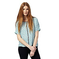 The Collection - Light blue spot top
