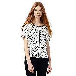 The Collection - White spot top