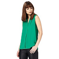 The Collection - Green sleeveless shirt