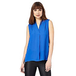 The Collection - Blue sleeveless shirt