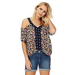 The Collection - Multi-coloured floral print top