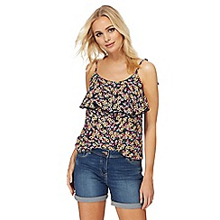 The Collection - Multi-coloured floral print camisole top