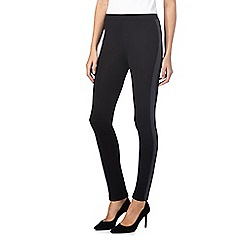 The Collection - Black stripe leggings