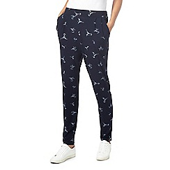 The Collection - Navy hummingbird jogging bottoms
