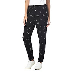 The Collection - Black hummingbird jogging bottoms
