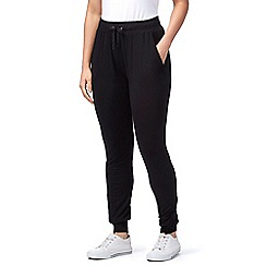 The Collection - Black jogging bottom trousers