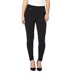The Collection - Black ponte petite leggings