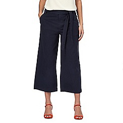 The Collection - Navy cropped culottes