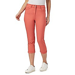 The Collection - Coral cropped jeggings