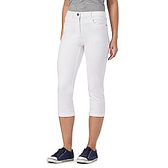 The Collection Petite - White cropped petite jeggings