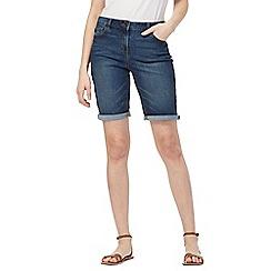 The Collection - Dark blue denim shorts