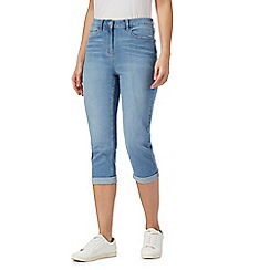 The Collection Petite - Light blue cropped petite jeggings