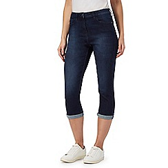 The Collection - Dark blue cropped jeggings