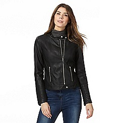 The Collection - Black zip through jacket