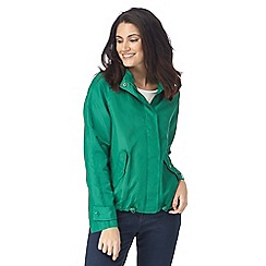 The Collection - Green shower resistant coat