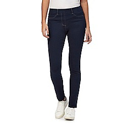 The Collection - Dark blue slim fit jeggings