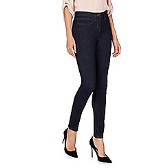 The Collection - Dark blue mid wash slim leg jeggings
