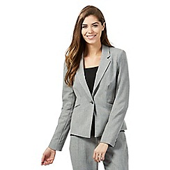 The Collection Petite - Grey suit petite jacket