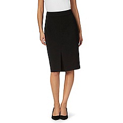 The Collection Petite - Black suit skirt