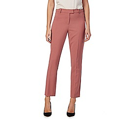 The Collection - Rose pink slim leg trousers