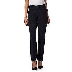 The Collection Petite - Navy slim leg petite trousers