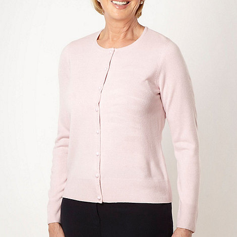 Classics - Pale pink ultra soft cardigan