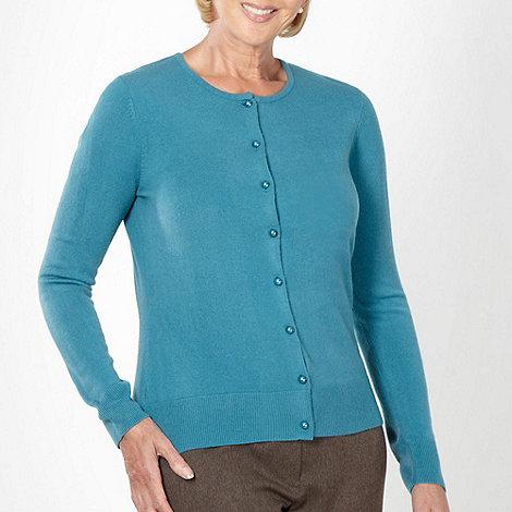 Classics - Turquoise ultra soft cardigan