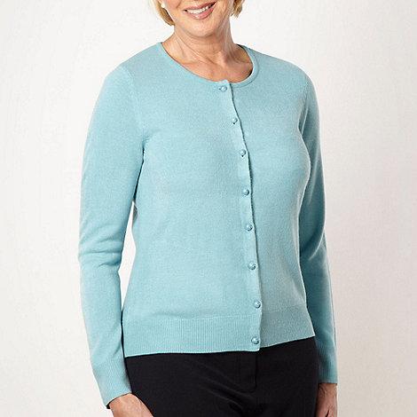 Classics - Light turquoise ultra soft cardigan