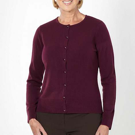Classics - Dark purple ultra soft cardigan