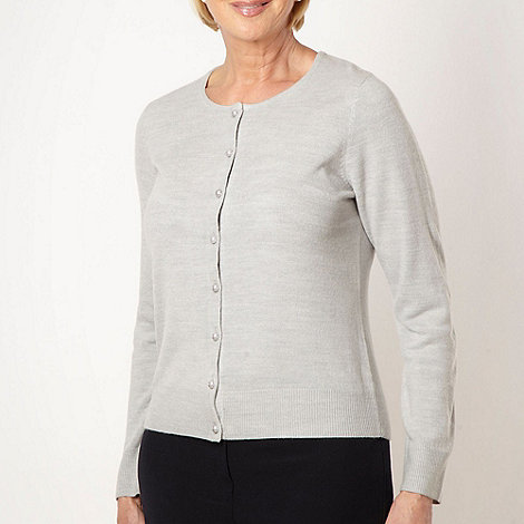 Classics - Light grey ultra soft cardigan