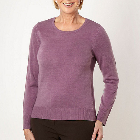 Classics - Light purple ultra soft crew neck jumper