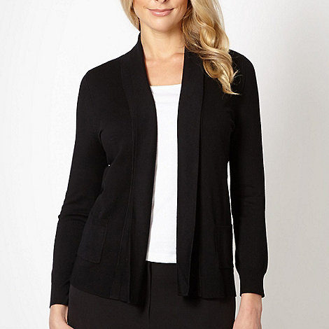 Classics - Black edge to edge cardigan