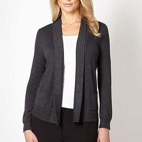 Classics - Dark grey edge to edge cardigan