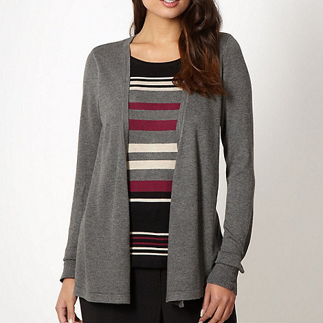 Classics - Grey 2 in 1 striped top