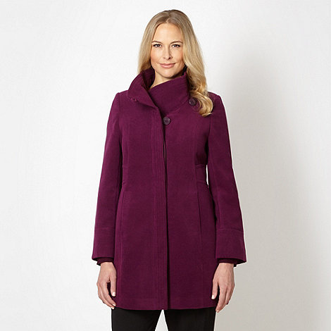 Classics - Purple velour coat