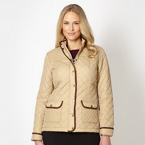 Classics - Natural quilted short jacket