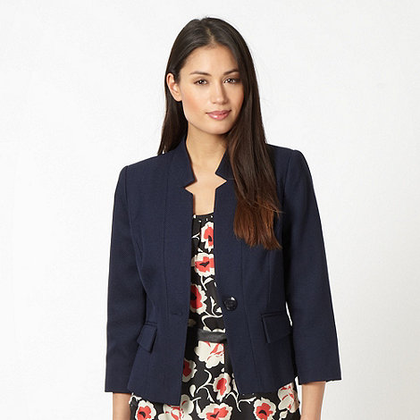 Classics - Navy textured jacket