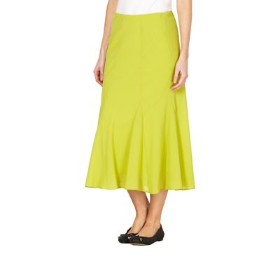Classics Lime textured skirt - . -