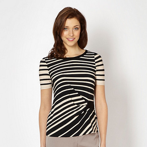 Classics - Black graduated striped top